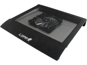 "LEPA A15 15"" Notebook/Laptop Aluminum Cooling Pad w/ 140mm Sparkle LED Fan LPDA1501"