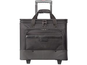 "Bond Street Business Carrying Case (Roller) for 17"" Notebook - Black"