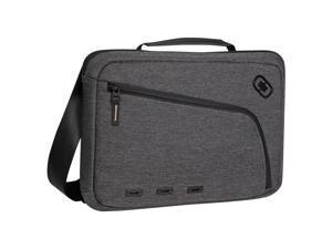 "Ogio NEWT SLIM Carrying Case (Backpack) for 13"" Notebook, iPad, Tablet, Portable Reader - Dark Static, Black, Dark Gray"