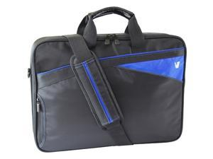 "V7 Edge CCD1 Carrying Case for 16.1"" Notebook - Black, Blue"