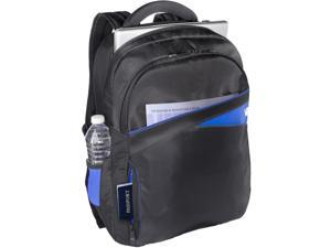 "V7 Edge CBD2 Carrying Case (Backpack) for 17.3"" Notebook - Black, Blue"