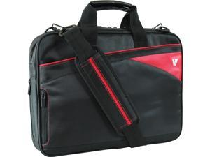 "V7 Edge Carrying Case for 14.1"" Notebook - Red"