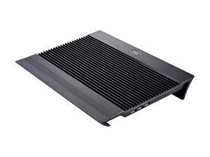 Logisys Computer Ultra Black Aluminum Laptop Cooler NP8BK