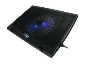 """SYBA Spyker 12"""" - 15.4"""" Notebook Cooler Pad with Giant 16cm Cooling Fan Model CL-NBK68015"""