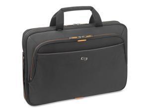 "Urban Carrying Case (Briefcase) for 15.6"" Notebook - Black, Orange"