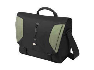 "Case Logic Black/Green 15.4"" Lightweight Sport Messenger Bag Model LNM-15FBlack/Green"