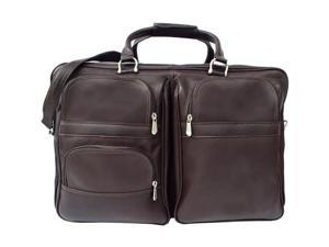 Piel LEATHER 8829-CHC Chocolate Complete Carry-All Bag