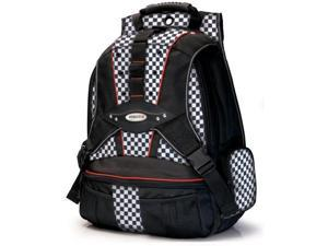 "Mobile Edge Checkered 17.3"" Checkered Premium Backpack Model MEBPPC"