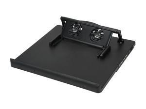 BYTECC Adjustable + 4ports USB Hub Quiet Notebook Cooler Model NC-768