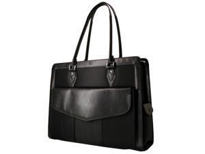 "Mobile Edge Black 17.3"" Large Geneva Tote Model MEGN1L"