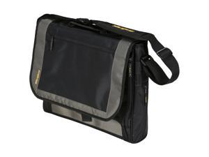 "Targus Black/Gray/Yellow 17"" CityGear Miami Messenger Notebook Case Model TCG200"