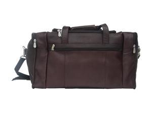 Piel LEATHER 2025CHC Travel Duffel W/ Side Pocket - Chocolate