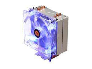 Thermaltake CLP0579 120mm Contac 30 Intel LGA-2011 Ready 160W TDP Heatpipe Direct-contact Technology CPU Cooler