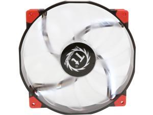 Thermaltake CL-F026-PL20WT-A 200mm Luna 20 Series WHITE LED High Airflow Case Fan