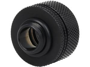 "Thermaltake Pacific CL-W092-CA00BL-A DIY LCS PETG Black 16mm (5/8"") OD Compression Fitting"