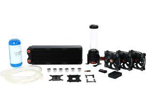 Thermaltake Pacific CL-W113-CA12SW-A DIY LCS RL360 High Capacity D5 Res/Pump RGB Riing Edition Water Cooling Kit