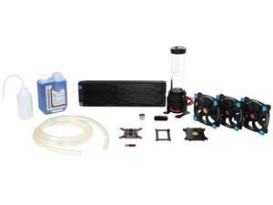 Thermaltake Pacific DIY LCS R360 Low Profile D5 Res/Pump Riing Blue LED Edition Water Cooling Kit CL-W115-CA12BU-A