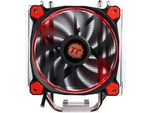 Thermaltake Riing Silent 12 Red LED 150W Intel/AMD 120mm CPU Cooler CL-P022-AL12RE-A