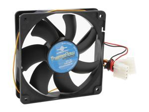 Vantec Thermoflow 120mm Double Ball BearingTemperature Controlled Case Fan - Model TF12025L