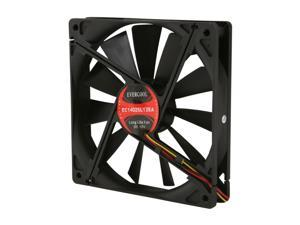 EVERCOOL EC-14025 Series FAN-EC1425L12EA Case Cooling Fan