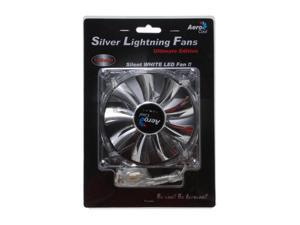 AeroCool SilverLightning120mm White LED Case Cooling Fan
