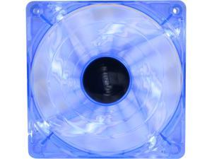 bgears B-PWM 120 BLUE 120mm Blue LED PWM technology mini 4 pin 4 wire 2 ball bearing high speed high performance 15 blades Case Fan