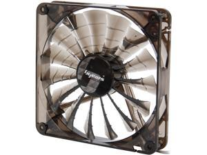 bgears b-PWM 140 Black 140mm PWM technology mini 4 pin 4 wire 2 ball bearing high speed high performance 15 blades Case Fan