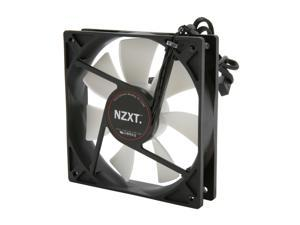 NZXT FX-120LB 120mm Enthusiast 3 Speed Fluid Dynamic Bearing 2600RPM Fan