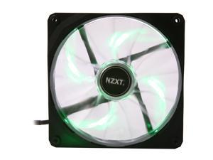 NZXT Air Flow Series RF-FZ140-G1 Green LED Case Fan