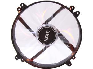 NZXT RF-FZ20S-O1 Orange LED True 200mm Wide Orange LED Fan with Sleeved-Cable