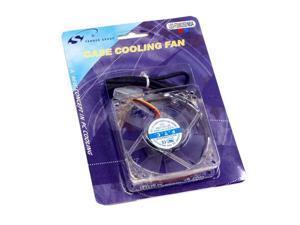 Spire LED-FD08025S1M3/4 Multi-Color LED Case Cooling Fan