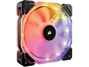 CORSAIR HD Series, HD140 RGB LED, CO-9050068-WW, 140mm High Performance Individually Addressable RGB LED PWM Fans (Single Fan, No Controller)