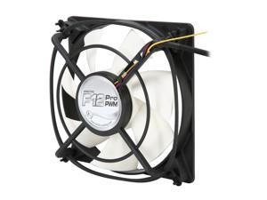 ARCTIC F12 Pro PWM Fluid Dynamic Bearing Case Fan, 120mm PWM Speed Control, 54CFM at 22dBA