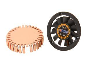 Titan TTC-CUV1AB(DIY) 40 x 40 x 10 mm 1 Ball, 1 Sleeve Copper VGA Cooler