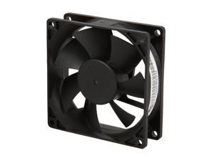 Rosewill 80mm Computer Case Fan (Case Cooling Fan) - Sleeve Bearing, Silent Fan with LP4 Adapter&#59; RFA-80-K