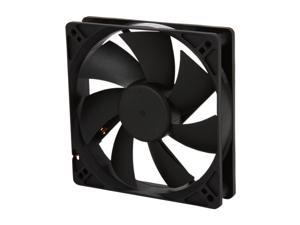 Rosewill RFA-120-K - 120mm Computer Case Cooling Fan with LP4 Adapter - Sleeve Bearing, Silent