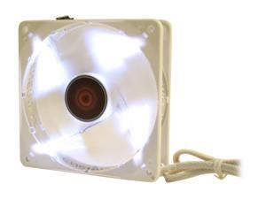 ENERMAX CLUSTER  UCCL12 120mm White LED TWISTER BEARING Case Fan (PWM technology)