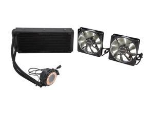 Enermax ECL240 240mm All-in-One Liquid CPU Cooler with 3 PWM Fan Modes and Dual Fans