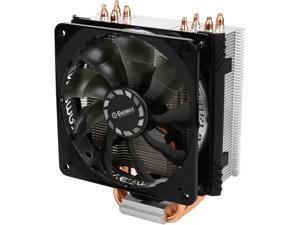 ENERMAX ETS-T40F-TB 120mm Twister Aluminum 120mm CPU Cooler with PWM Fan Low 8 dBA nosie w/ fan adaptor