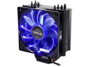 ENERMAX ETS-T40F-BK 120mm Twister Aluminum 120mm Black CPU Cooler with blue LED PWM Fan