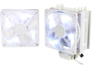 ENERMAX ETS-T40F-W 120mm Twister Aluminum 120mm White CPU Cooler with Dual White LED PWM Fans