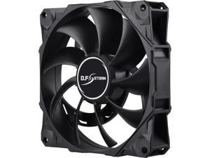 Enermax D.F. Storm 120mm Dust Free Rotation Technology High Performance 3,500 RPM w/ 3 Peak RPM Options & 4-pin PWM Connector Case Fan, UCDFS12P