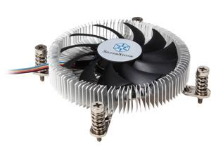 SILVERSTONE NT07-115X Super Slim Profile CPU Cooler LGA 1156/1155/1150 Intel LGA115X