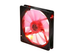 APEVIA  CF14SL-BRD  140mm UV red LED fan w/3-pin and 4-pin connectors and black grill