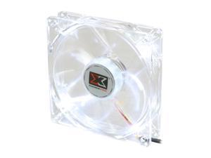 XIGMATEK Cooling System Crystal Series CLF-F1254 White LED Case cooler