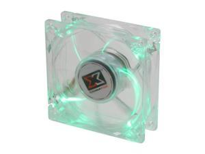 XIGMATEK Cooling System Crystal Series CLF-F8253 Green LED Case Fan