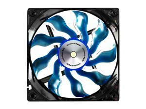 Xigmatek AOS (Aeronautical Oil System Bearing) XAF-F1256 120MM Fan with Copper Bushing Axis Blue Blade White LED