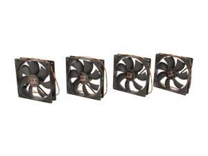 XIGMATEK eXTREME SILENT Series XSF-F1252 120mm Case Fan with FCB (Fluid Circulative Bearing), 4 in 1 package CFS-SXGJR-KU3