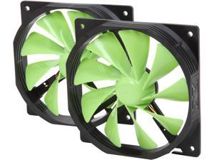 XIGMATEK FCB (Fluid Circulative Bearing) Cooling System XOF-F12525 120mm Lime Green Case Fan