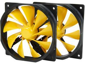 XIGMATEK XOF-F1256 120mm FCB (Fluid Circulative Bearing) Cooling System 120mm Golden Yellow Case Fan